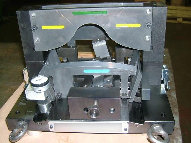 Montage de contrôle d'un moule pour la fonderie cire perdue
